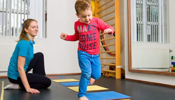 Fysiotherapie voor kinderen