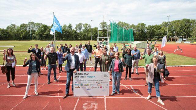 Ondertekening sport en preventieakkoord Velsen
